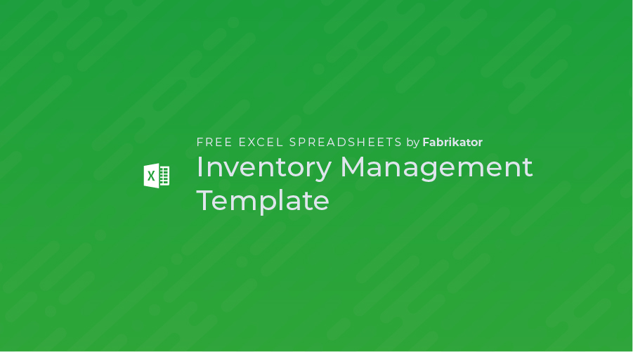 Inventory Management Excel Spreadsheet Template