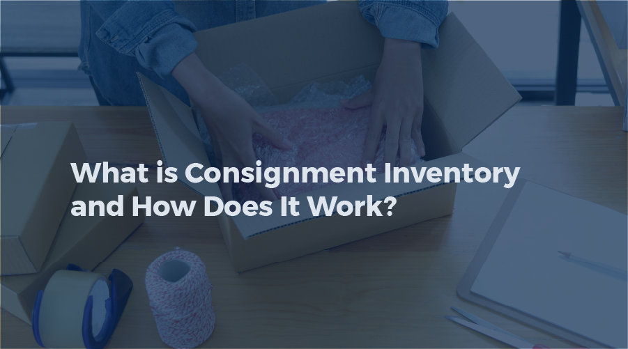 What is consignment inventory and how does it work?
